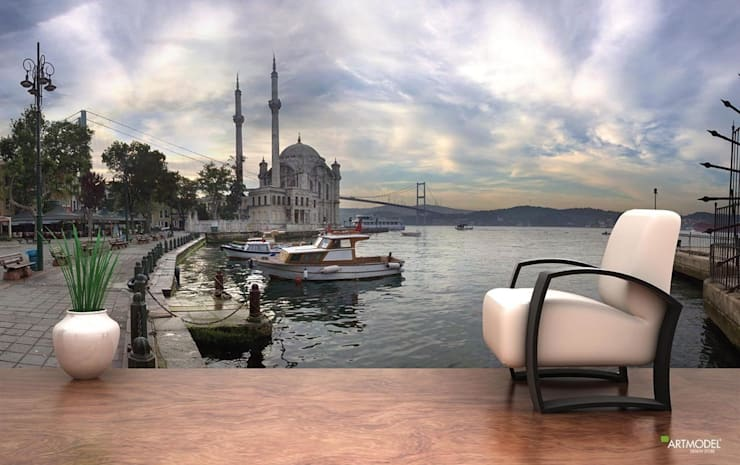 ARTMODEL – Ortaköy Cami Duvar Kağıdı (PA-09):  tarz Duvar & Zemin
