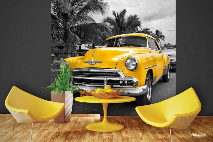 ARTMODEL – Cuba Car - Poster Duvar Kağıdı:  tarz Duvar & Zemin