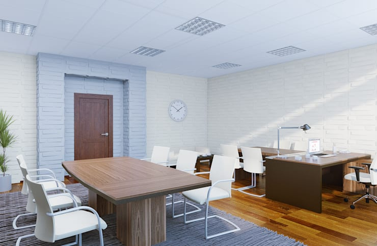 https://www.homify.ru/professionals/66767/ak-interior-design-group: Офисные помещения в . Автор – Студия дизайна и декора Алины Кураковой
