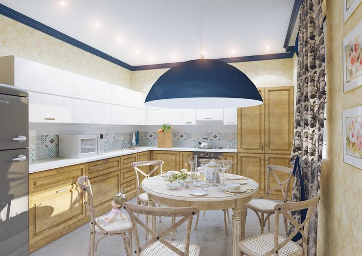 https://www.homify.ru/professionals/66767/ak-interior-design-group: Кухни в . Автор – Студия дизайна и декора Алины Кураковой, Кантри