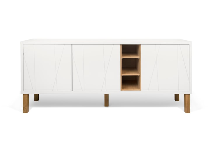 Niche with pattern sideboard - with legs: Sala de jantar  por Temahome