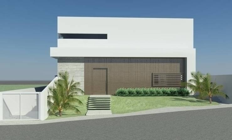 CASA LA: Casas  por ESTUDIO ARK IT