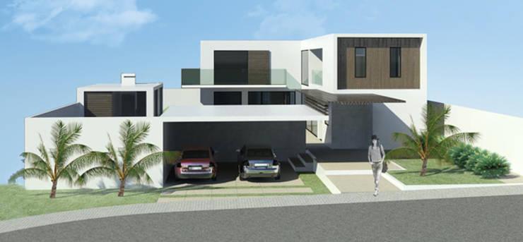 CASA CONTAINER : Casas  por ESTUDIO ARK IT
