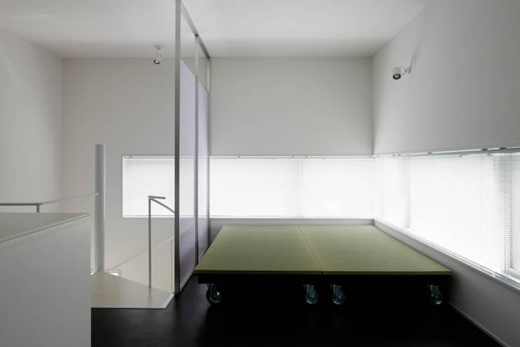 畳移動家具の配置例-2: 久保田章敬建築研究所が手掛けた商業空間です。,