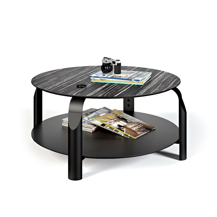 Scale coffee table: Sala de estar  por Temahome
