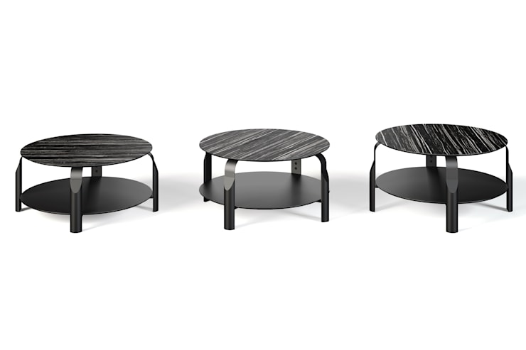 Scale coffee table : Sala de estar  por Temahome
