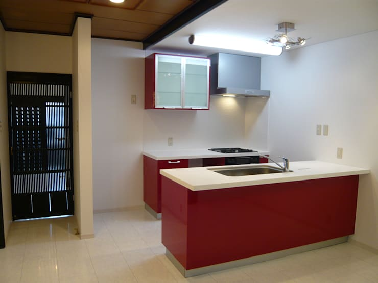 Kitchen after: SOCO2 / そこそこが手掛けたです。