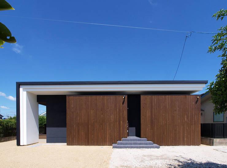 外観正面: Egawa Architectural Studioが手掛けた家です。