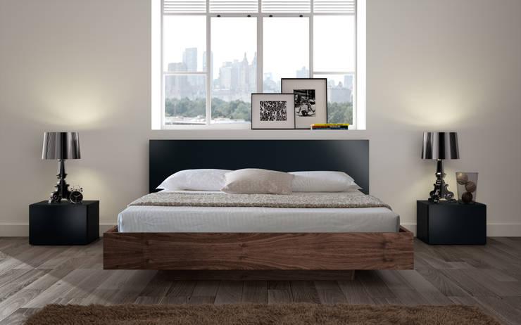 hiện đại  theo Temahome, Hiện đại Gỗ Wood effect