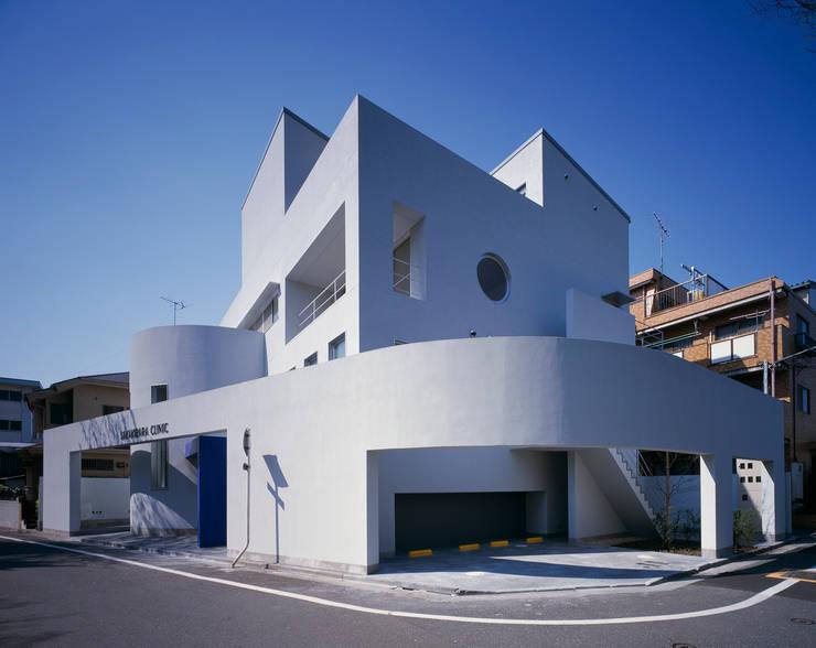 外観: 久保田章敬建築研究所が手掛けた医療機関です。