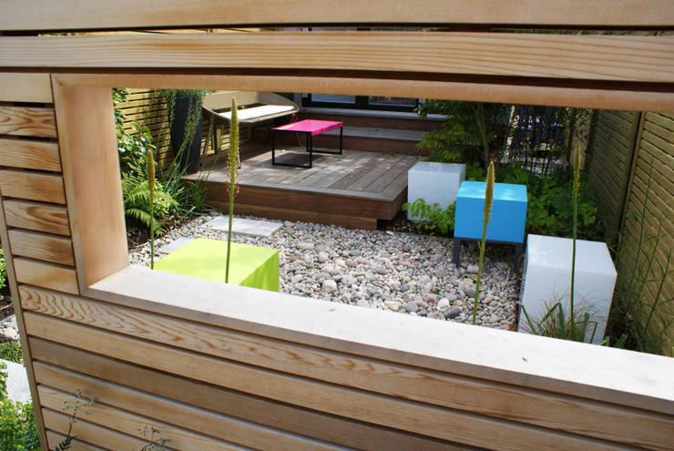 Сады в . Автор – Rosemary Coldstream Garden Design Limited, Модерн