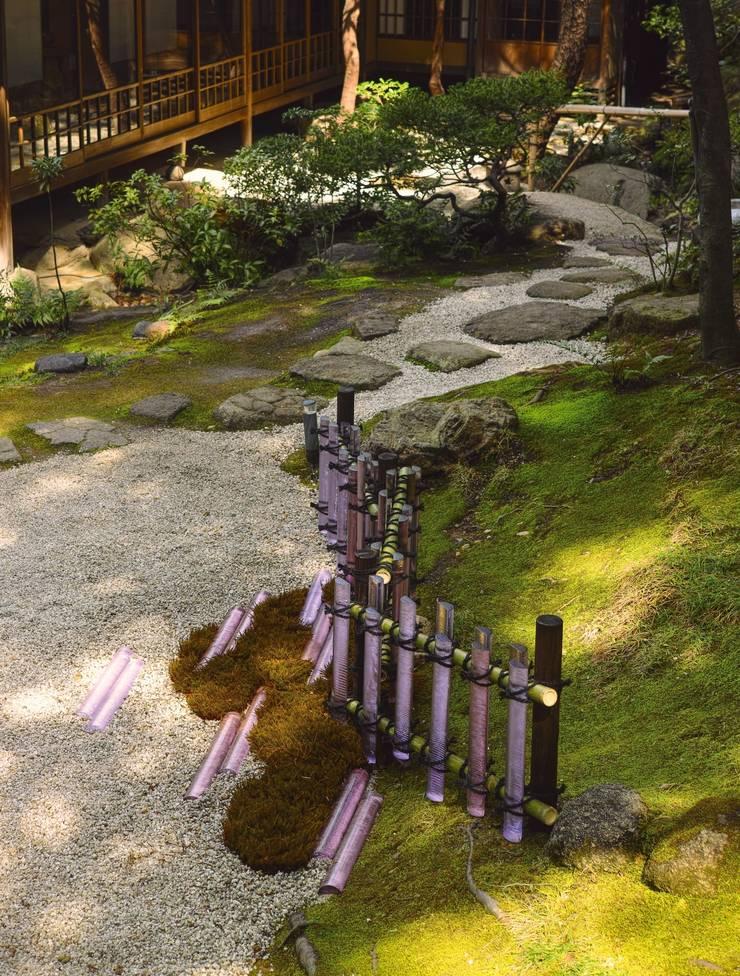 光の垣根: 木村博明 株式会社木村グリーンガーデナーが手掛けた庭です。