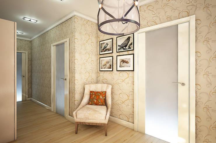 Двухкомнатная квартира: Коридор и прихожая в . Автор – Студия 'Облако-Дизайн'