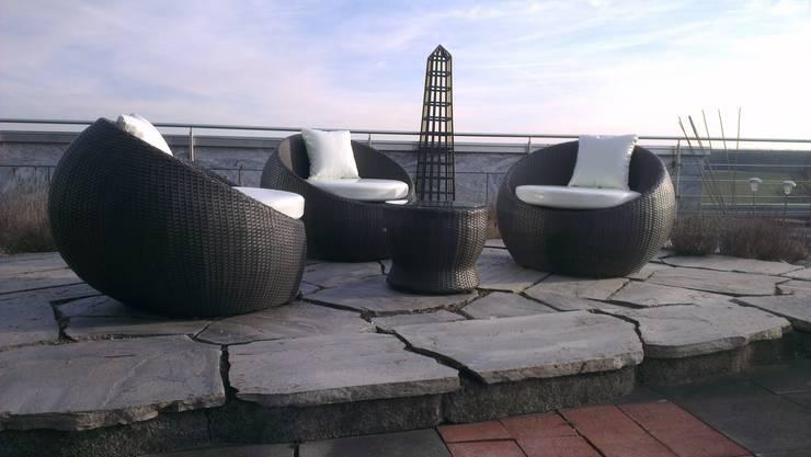 Giardino in stile in stile Moderno di Rattania GmbH