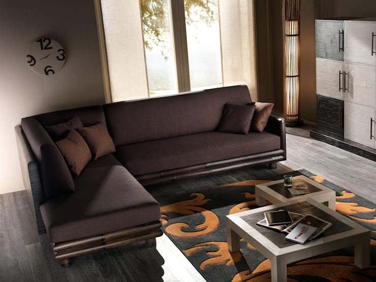 غرفة المعيشة تنفيذ Rattania GmbH