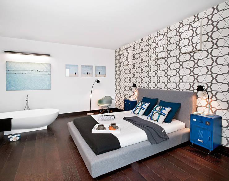 Schlafzimmer von justyna smolec architektura & design