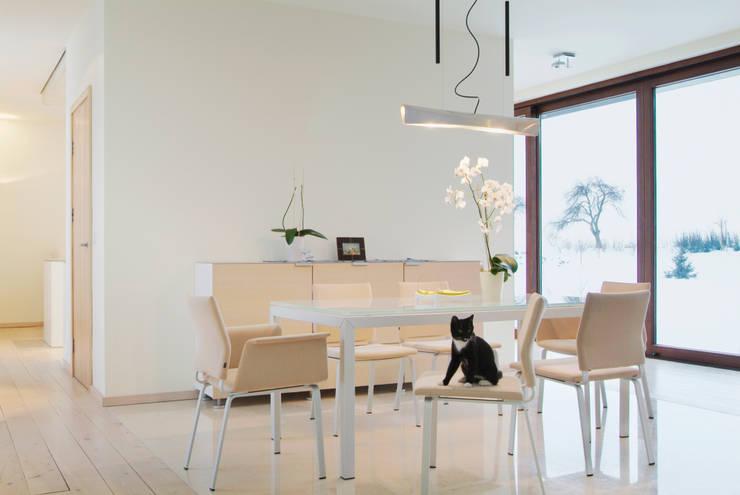 moderne Wohnzimmer von PAG Pracownia Architektury Głowacki