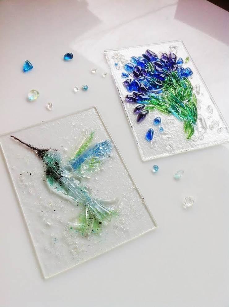 Птицы: Ванная комната в . Автор – Семь стекол