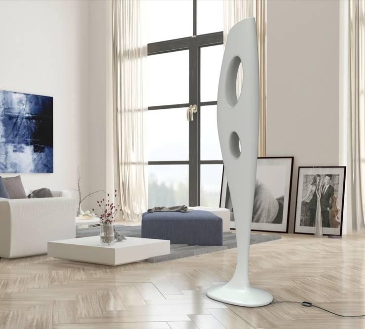 Lampada KARMA: Soggiorno in stile  di Studio Ferrante Design