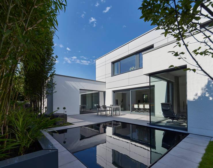 Wohnhaus_S:  Terrasse von Fachwerk4 | Architekten BDA