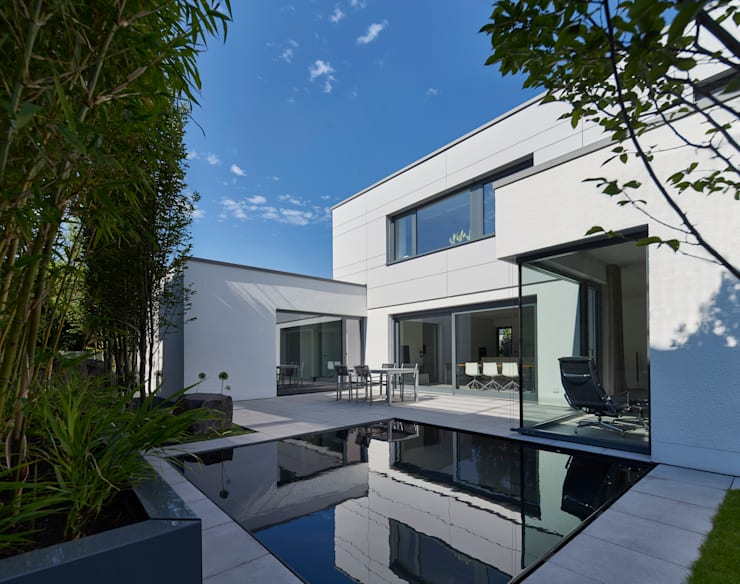 Projekty,  Taras zaprojektowane przez Fachwerk4 | Architekten BDA