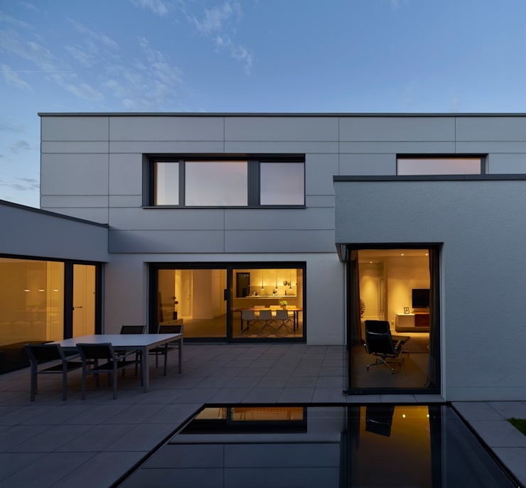 Projekty,  Domy zaprojektowane przez Fachwerk4 | Architekten BDA