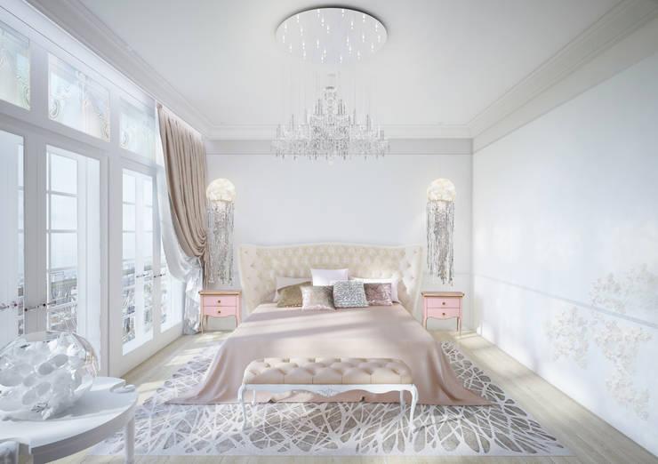 Пентхаус в ЖК Английский квартал: Спальни в . Автор – FAOMI