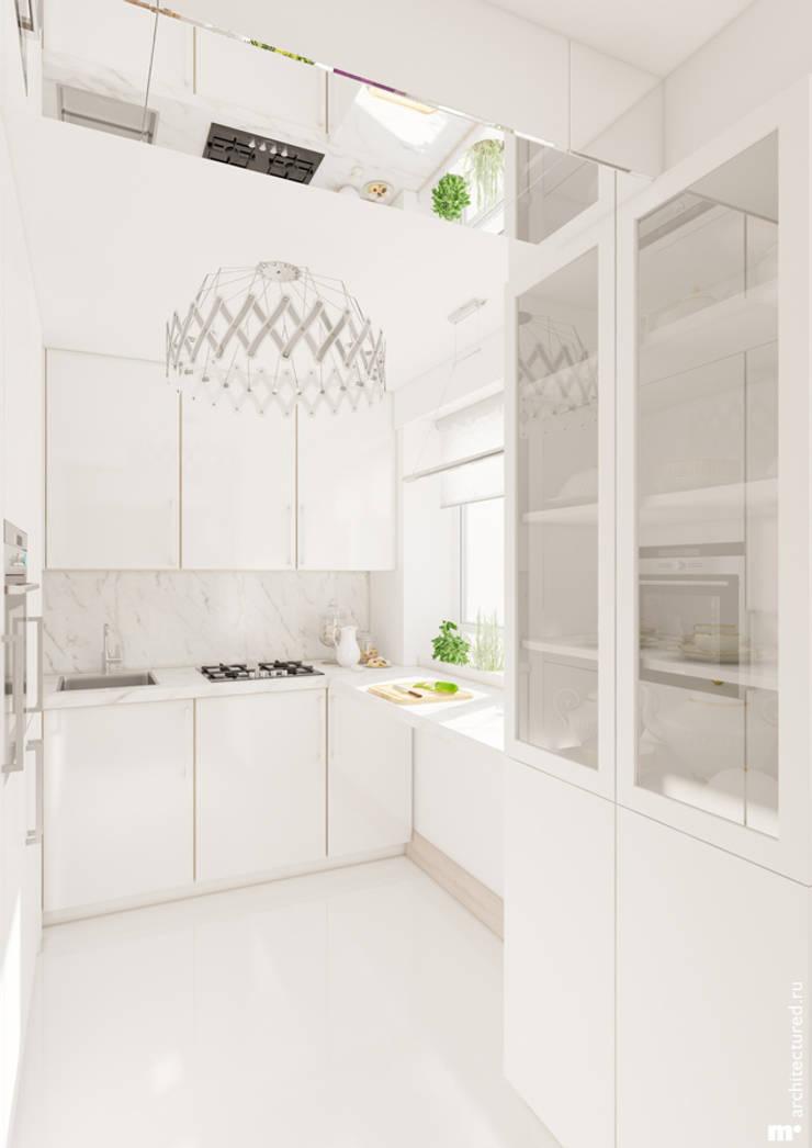 Кухня: Кухни в . Автор – Architectured - мастерская Маргариты Рассказовой,