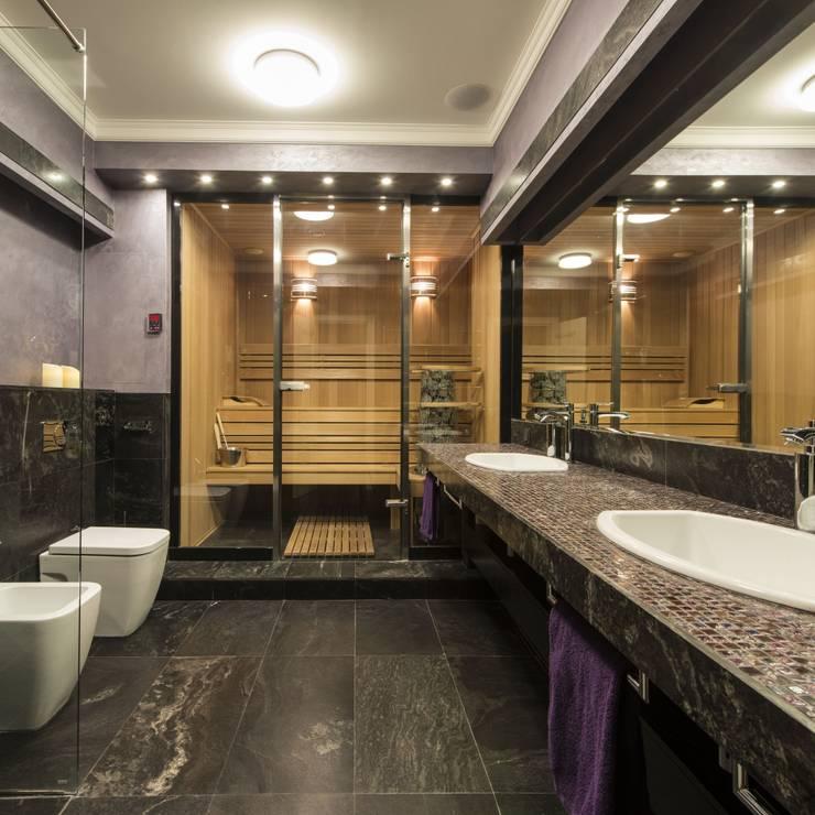 Ванная комната: Ванные комнаты в . Автор – АрДи Хаус
