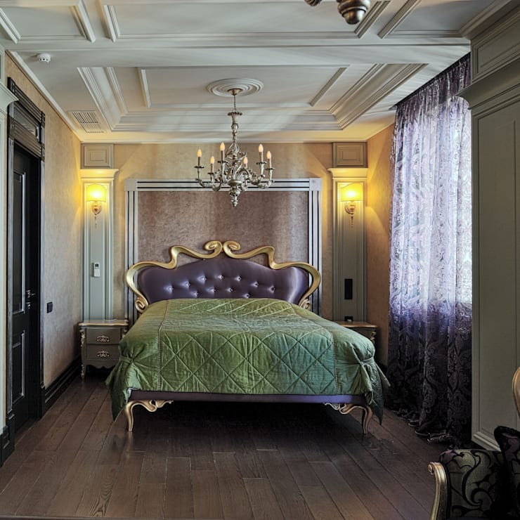 Спальня: Спальни в . Автор – АрДи Хаус