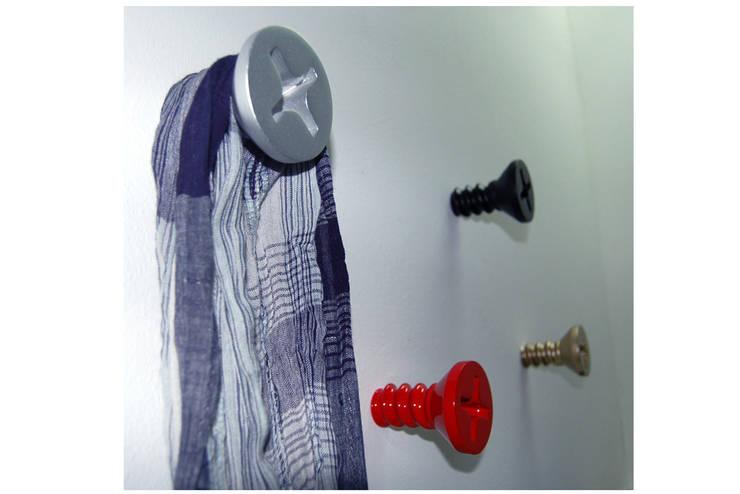Vago Minds Ltd. – Vida Tasarımlı Askılık / Screw Hanger: modern tarz Duvar & Zemin
