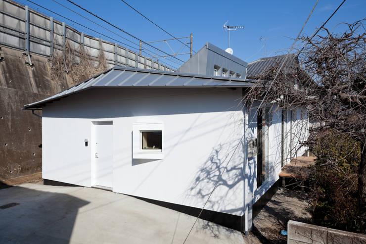 西側外観: 加藤裕一 / KSA が手掛けた家です。
