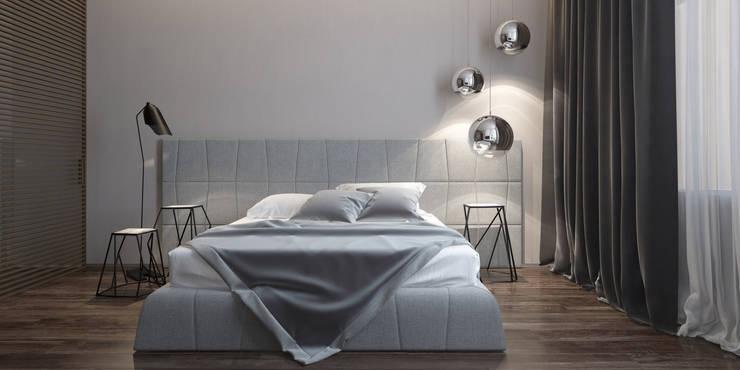 Квартира в ЖК <q>Александрия</q>: Спальни в . Автор – Elena Potemkina