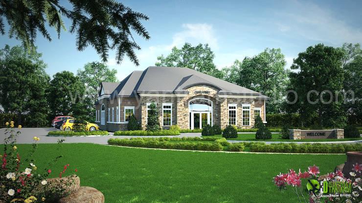 Artwork by Yantram Architectural Design Studio