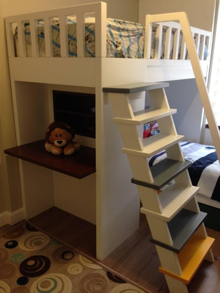 Vizyon mimarlık ve Dekorasyon – Y.D. Evi: modern tarz Çocuk Odası