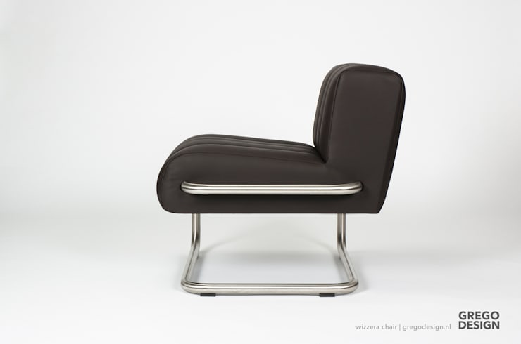 Svizzera chair:  Woonkamer door Grego Design Studio