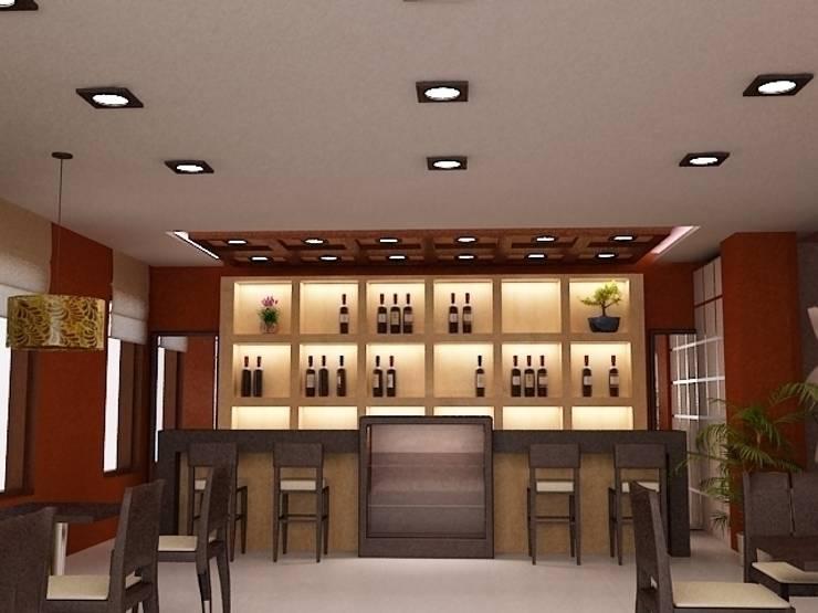"""Эко-Кафе """"UNIQUE Organic Bar"""": Ресторации в . Автор – Дизайн-бюро Анны Шаркуновой 'East-West'"""