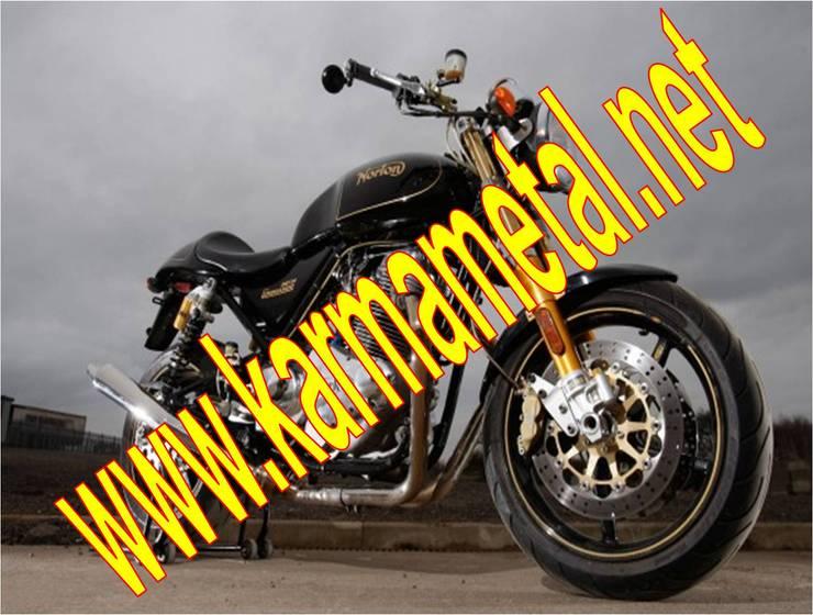 KARMA METAL – KARMA METAL-Motosiklet Parkı Demiri İmalatı Parkları Ölçüleri:  tarz Garaj / Hangar