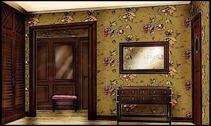 Квартира-мечта о Франции: Коридор и прихожая в . Автор – Дизайн-бюро Анны Шаркуновой 'East-West'