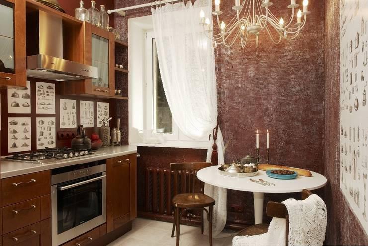 Квартира в старом московском доме: Кухня в . Автор – Irina Tatarnikova
