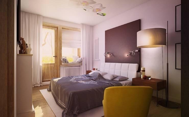 Квартира для большой семьи: Спальни в . Автор – Дизайн-бюро Анны Шаркуновой 'East-West'