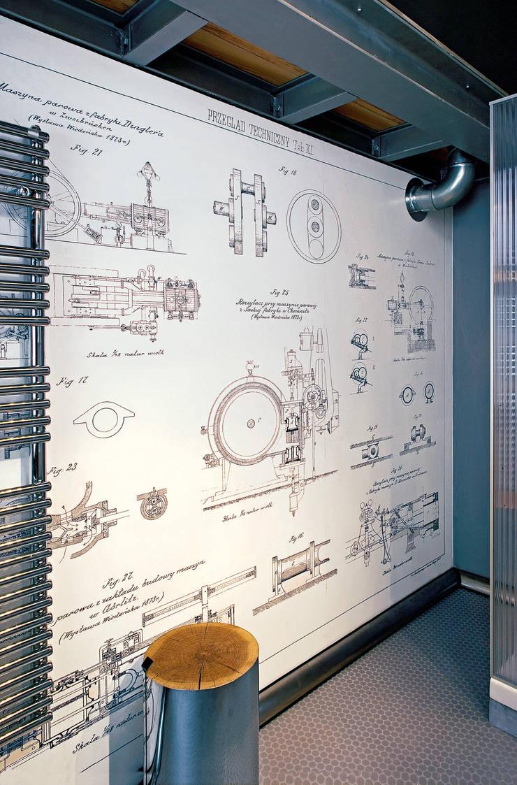 Lofty de Girarda, Żyrardów, fot. Hanna Długosz: styl , w kategorii Ściany zaprojektowany przez justyna smolec architektura & design