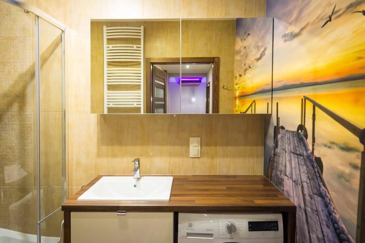 Mieszkanie Młyniec III: styl , w kategorii  zaprojektowany przez Autorska Pracownia Projektowa Joanna Gostkowska-Białek,
