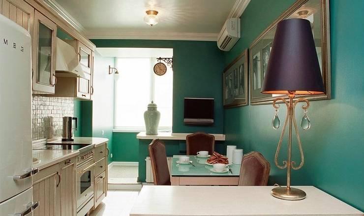 Квартира в самом центре Москвы: Кухня в . Автор – Irina Tatarnikova