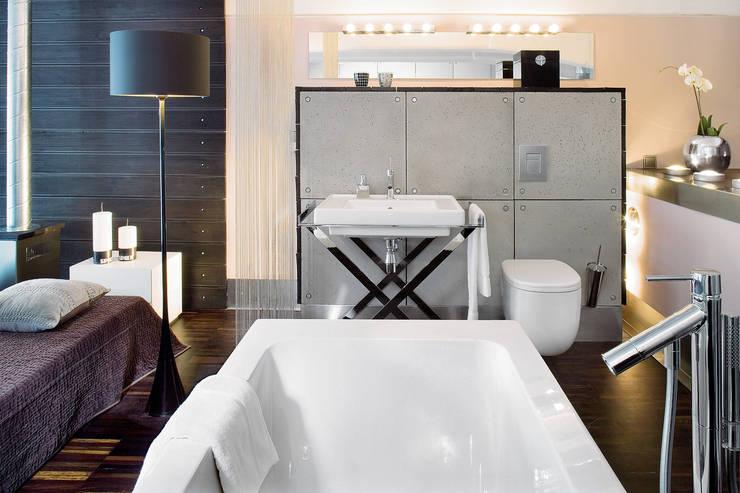Ванные комнаты в . Автор – justyna smolec architektura & design