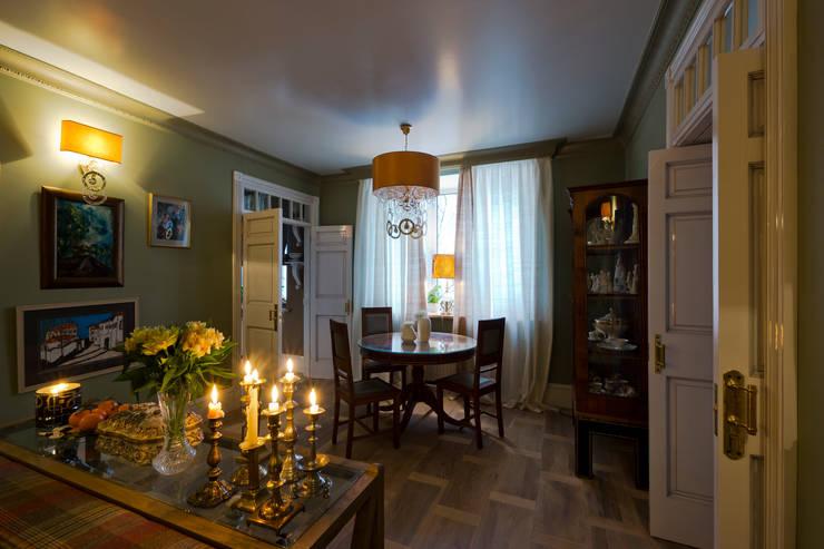 Квартира в старинном московском доме 1907 года: Гостиная в . Автор – Irina Tatarnikova