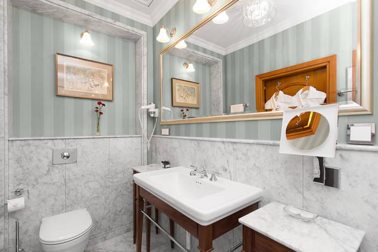 Hotel Wentzl Kraków – Łazienka 31: styl , w kategorii Hotele zaprojektowany przez unikat:lab
