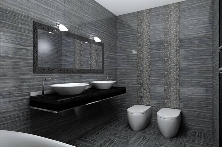 ванная комната: Ванные комнаты в . Автор – 3designik