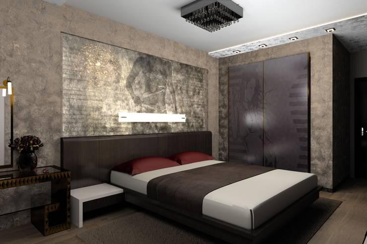 спальня: Спальни в . Автор – 3designik