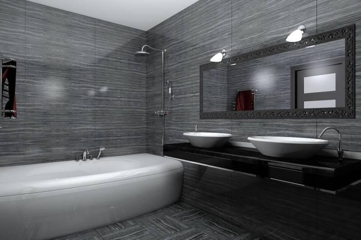 санузел: Ванные комнаты в . Автор – 3designik